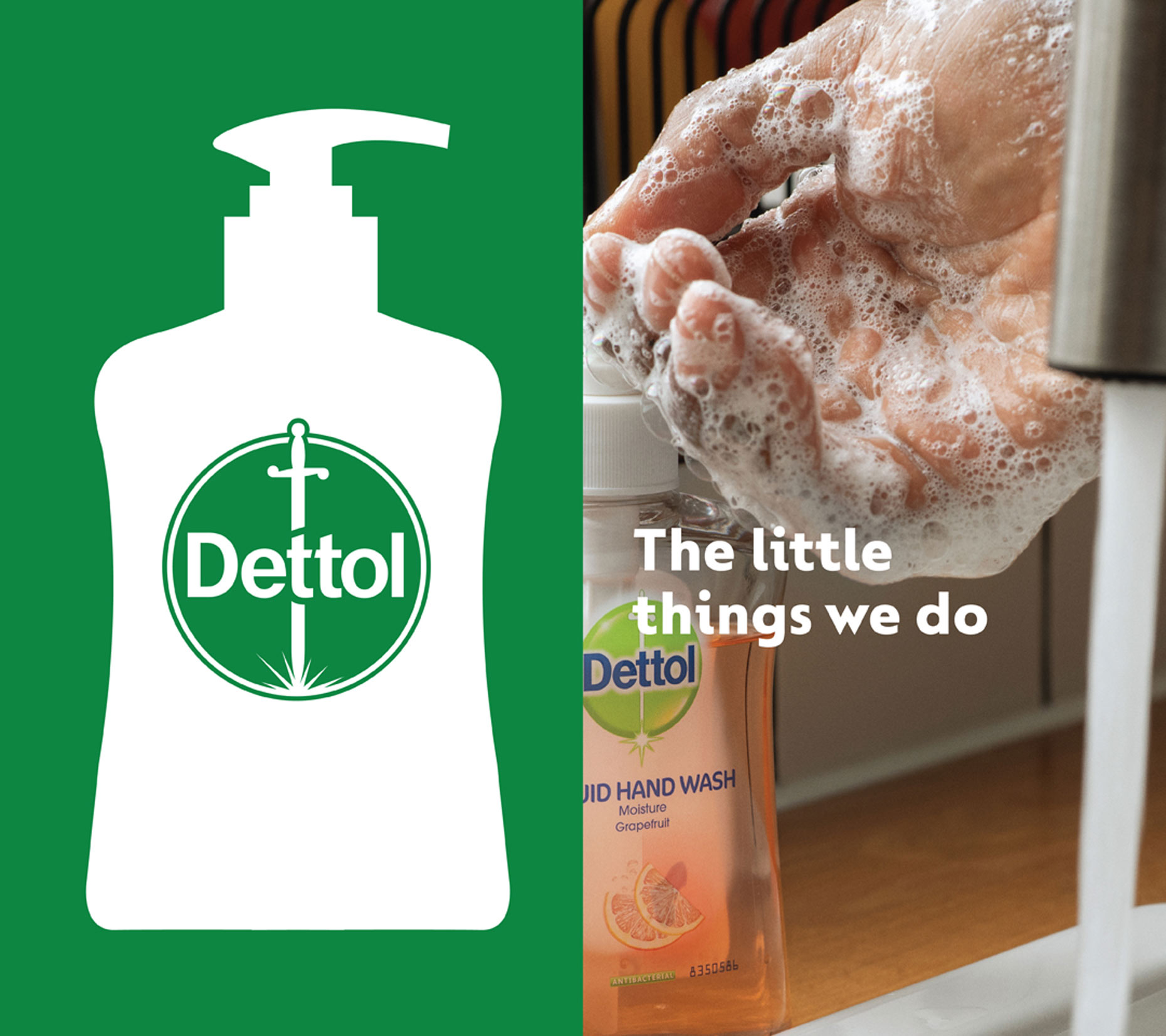 Lifestyle photography for Dettol Little Things campaign shot in London